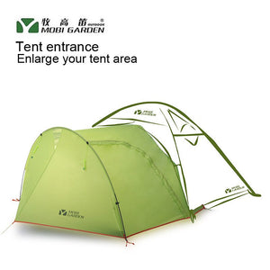 Mobi Garden 210T  TUOPU Normal Tent Entrance Shed Vestibule Matching 2-3 people Tent