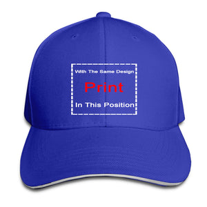Baseball Cap Funny men novelty women IH American Farmer International Harvester - Adult Snapback hat peaked