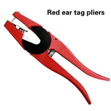 Load image into Gallery viewer, Animals Cow Sheep Ear tag Plier Applicator Plier Cattle Pig Goat Ear Tag Animal Tool Plier Forcep Applicator Free Shipping