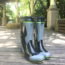 Load image into Gallery viewer, Quality Genuine Rubber Tall Boots Wading Waterproof Fishing Waders Men 45 46 Rain Water Shoes Garden Farm Snow Non Slip Wellies
