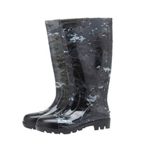 Load image into Gallery viewer, Camouflage Rain Boots Thick Wear-Resistant Water Shoes Plus Velvet Rain Boots Site Rain Boots Farm Waterproof Rain Boots