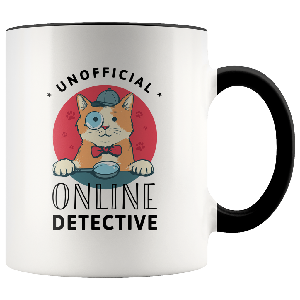 Unofficial Online Detective Accent Mug (CAT EDITION)