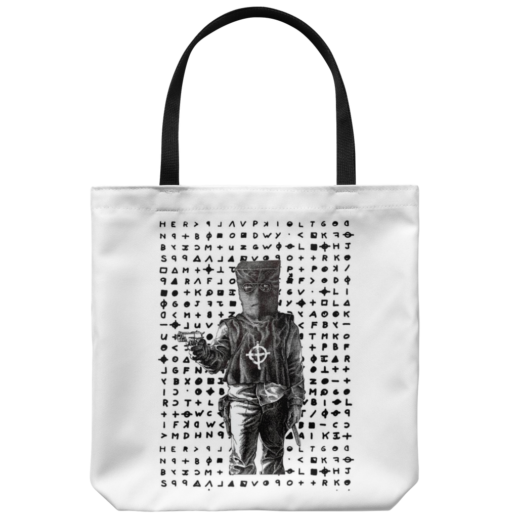 Zodiac Killer Cipher Tote Bag