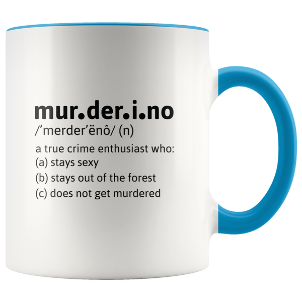 Murderino Definition Accent Mug