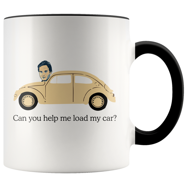 Ted Bundy, Can You Help Me Load My Car Accent Mug