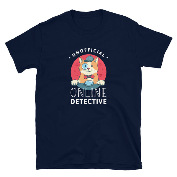 Unofficial Online Detective T-Shirt (CAT EDITION)