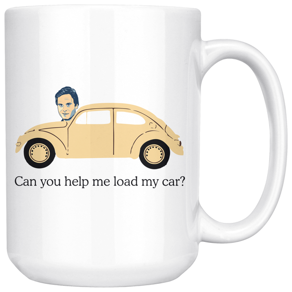 Ted Bundy, Can You Help Me Load My Car Mug