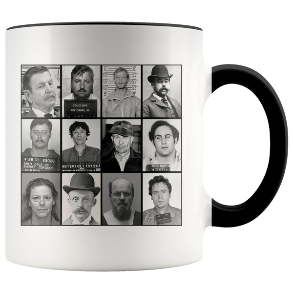 Serial Killer Mugshots Accent Mug