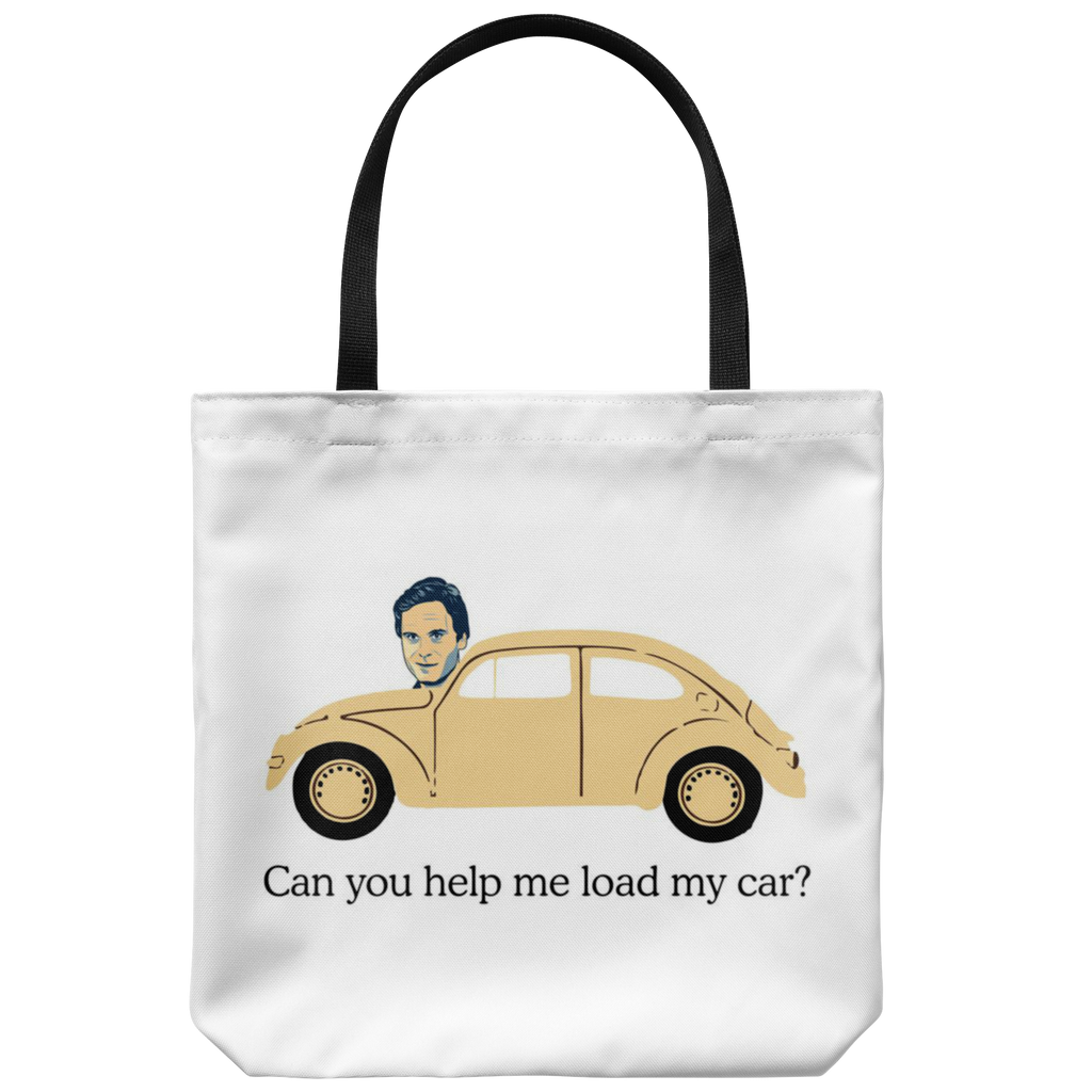 Ted Bundy, Can You Help Me Load My Car Tote Bag