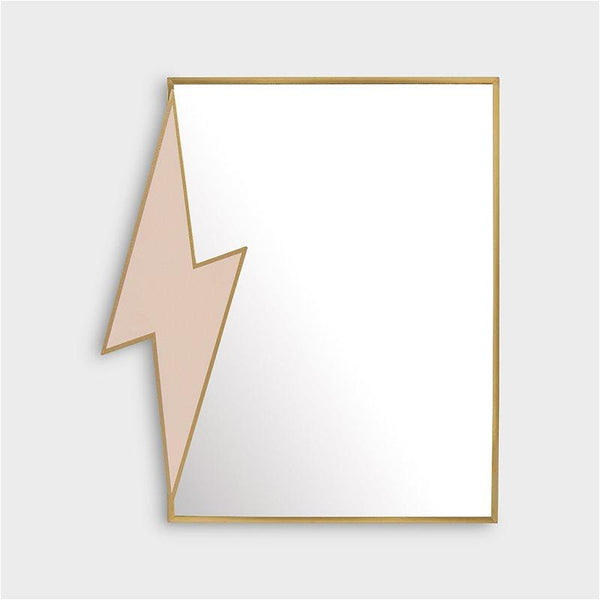 &K | STANDING MIRROR LIGHTNING BOLT
