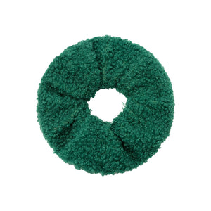 SCRUNCHIE TEDDY | GREEN