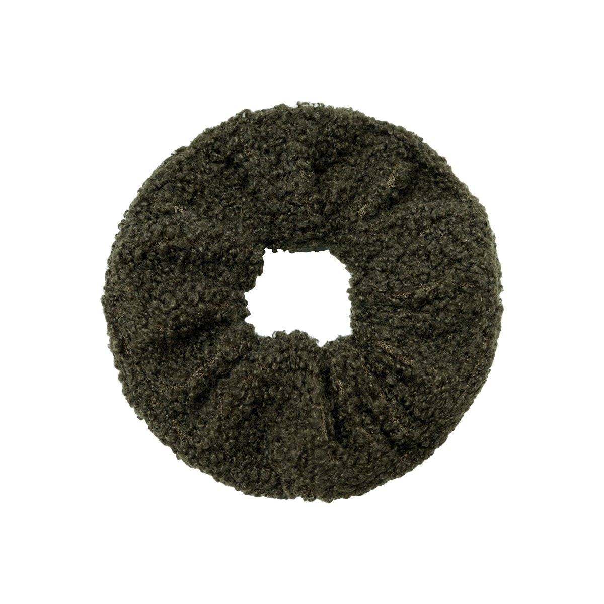 SCRUNCHIE TEDDY | OLIVE