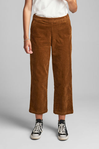 NUMPH | NUMEGHANO PANTS - BRONZE BROW