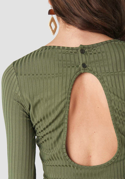 OPEN BACK RIB TOP