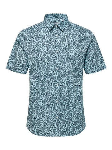 OS | ARGON STRETCH SHIRT - AQUATIC