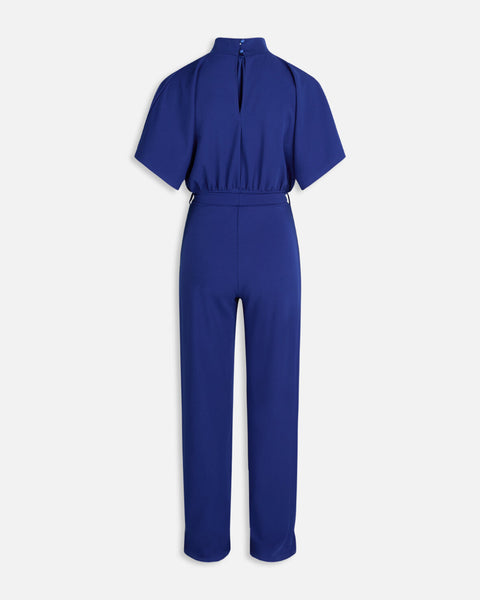 TURTLENECK JUMPSUIT - PINE GREEN