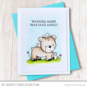 'Mummy Bear' Digital Stamp