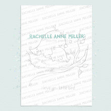 Load image into Gallery viewer, Pretty Bird (Sizes A5-A2)