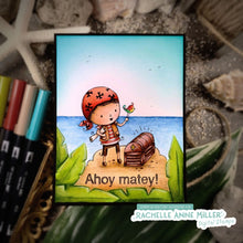 Load image into Gallery viewer, 'Ahoy Matey Pirate' Digital Stamp