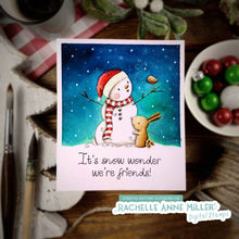 Load image into Gallery viewer, 'Snow Friends' Christmas Digital Stamp (High Res JPG)