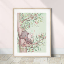 Load image into Gallery viewer, Koalas (Sizes A5-A2)