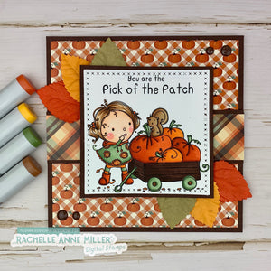 'Pumpkin Patch' Digital Stamp