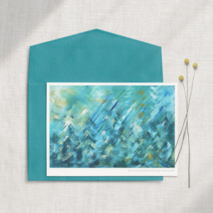 'Spring Forest' 5x7 Greeting Card