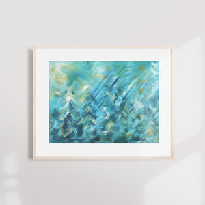 'Spring Forest' Giclée Fine Art Print (Sizes A5-A2)