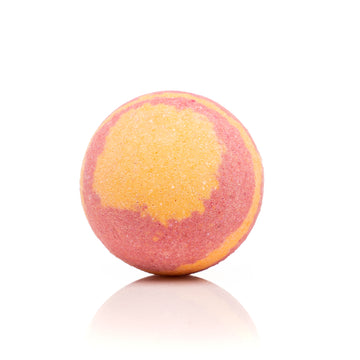 Orange Colored Sky Boosted Bath Bomb