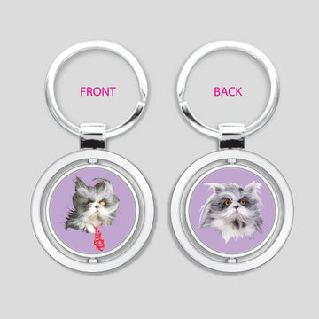 Atchoum The Cat - Spinner Keychain