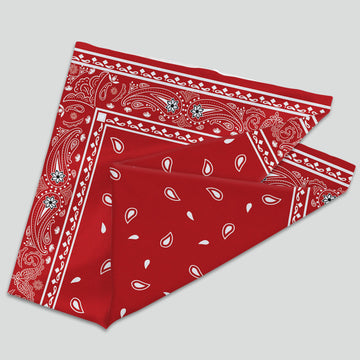 Bandana - Red (Neck Gaiter)