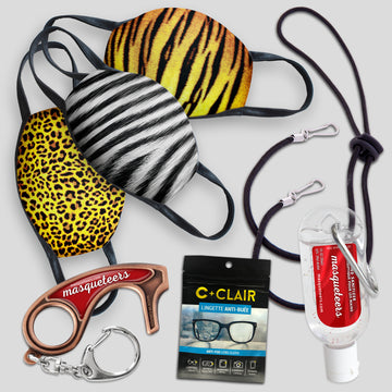 Adult Mask Kit - Animal Print