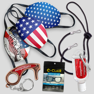 Adult Mask Kit - USA