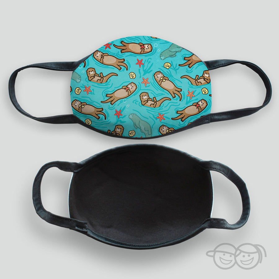 Otters Kid's Face Mask (Scuba-3)