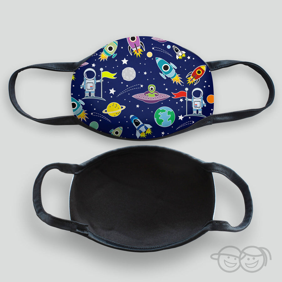 Outer Space Kid's Face Mask (Scuba-3)