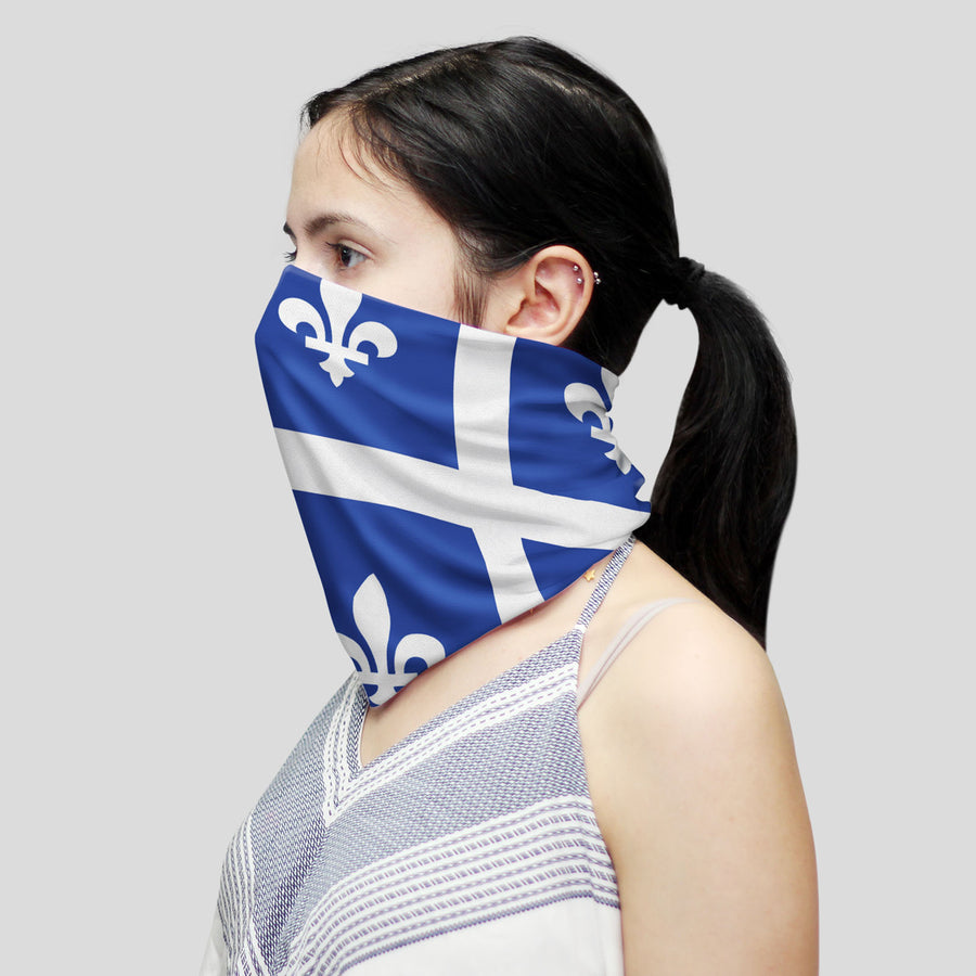 Quebec Flag (Neck Gaiter)