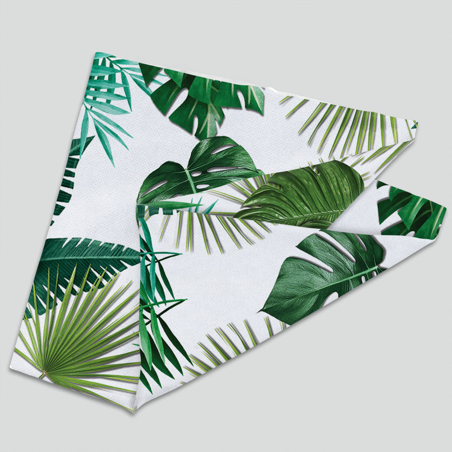 Tropical Green Leaves (Neck Gaiter)