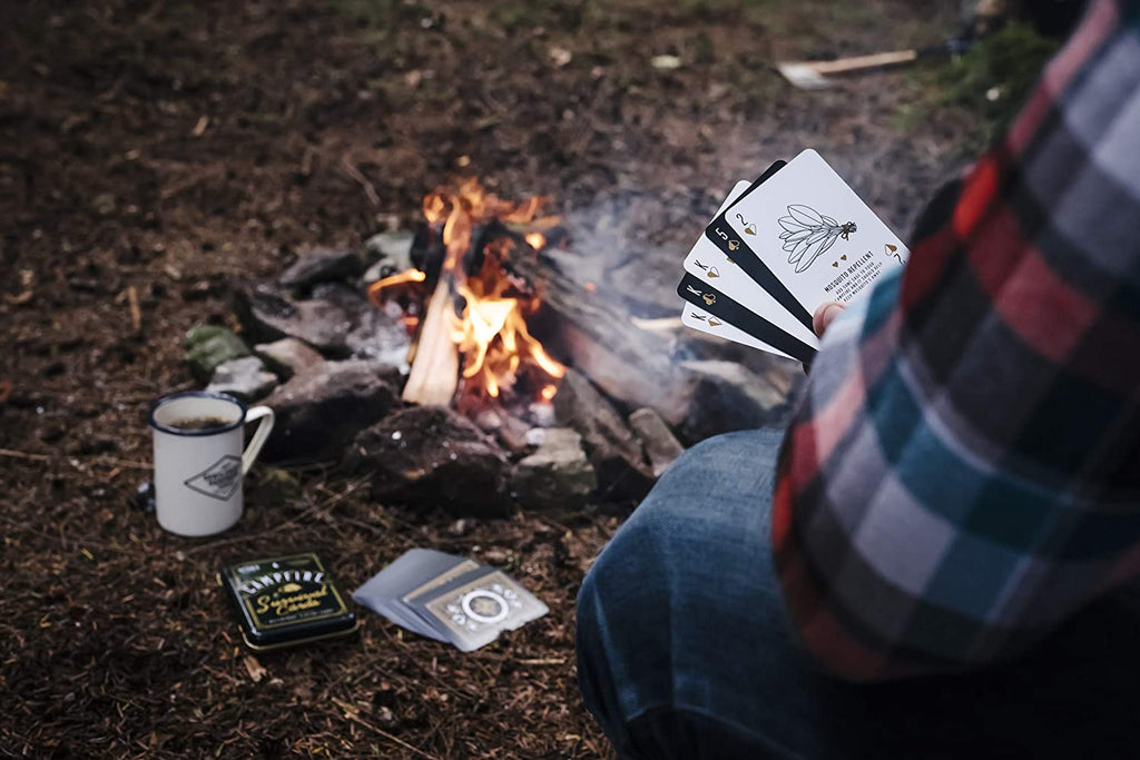 Campfire BBQ Playing Cards