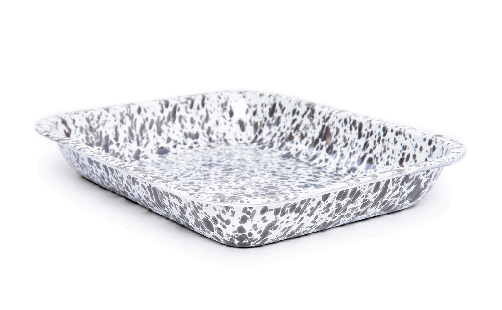 Splatter Large Open Roasting Pan
