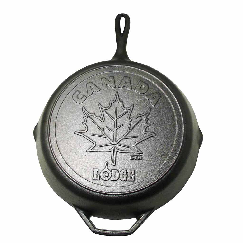 "Collectible Canadiana 12"" Maple Leaf Skillet"