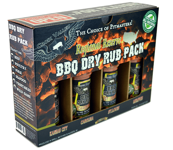 Croix Valley BBQ Sauce & Rub Gift Packs