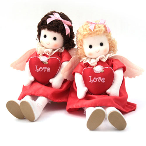 Little Love Angels Set of 2 Collectible Musical Dolls