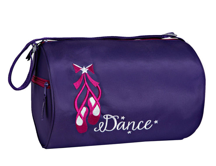 Horizon Dance 2307 Dolce Embroidered Ballet Duffel Bag - Purple