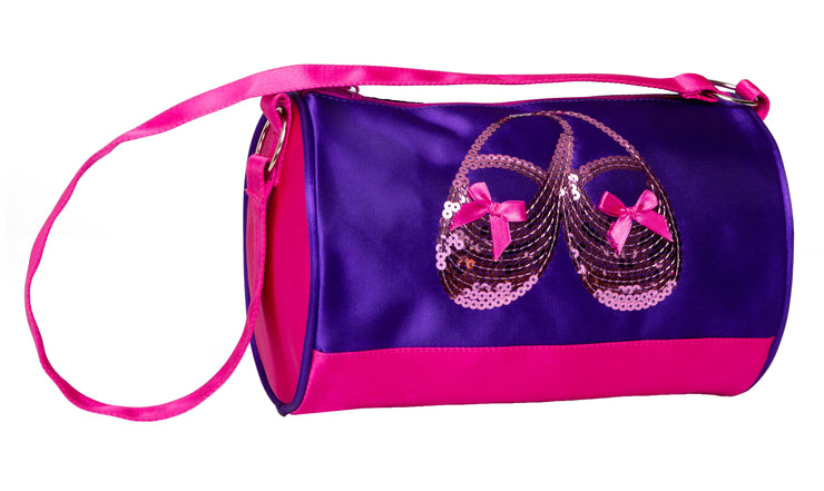 Horizon Dance 3411 Satin & Sequins Ballet Shoes Extra Small Duffel
