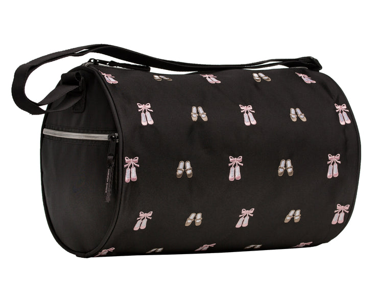 Horizon Dance 5601 Daisy Embroidered Ballet and Tap Dance Small Duffel Bag