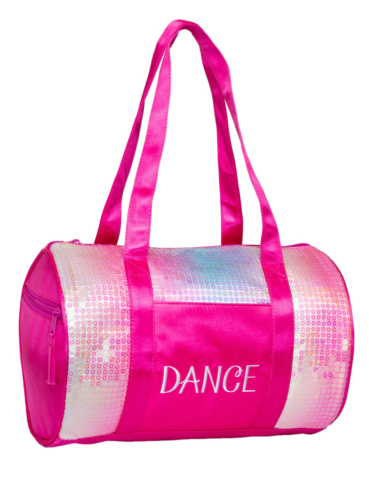 Horizon Dance 9500 Sequins Small Dance Duffel Bag - Pink Iridescent
