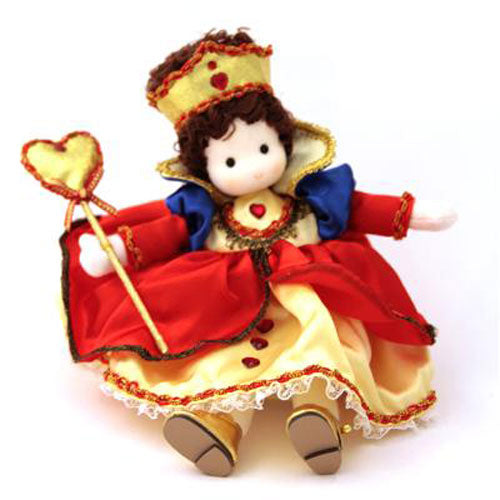 Queen of Hearts (Alice in Wonderland) Collectible Musical Doll