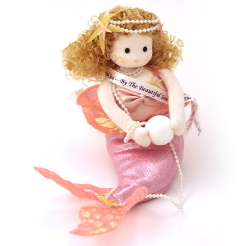 Pink Mermaid Collectible Musical Doll