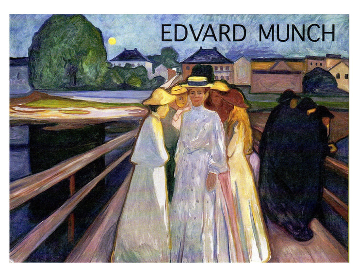 Edvard Munch Fauvism Beach Scenes Boxed Note Card Set with Envelopes