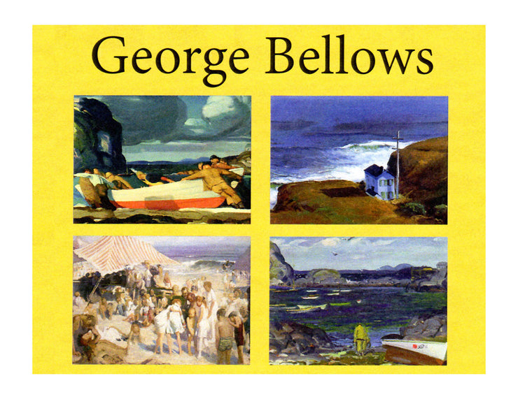 George Bellows Seascapes Note Cards - Boxed Set of 16 with Envelopes